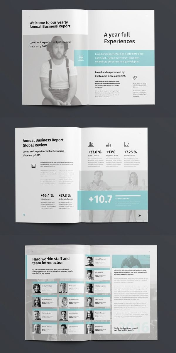 Egotype Corporate Annual Report 48 Pages Annual Report Design Report Design Annual Report Layout