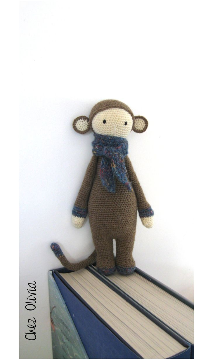 Monkey mod for Lalylala pattern. Blog in french