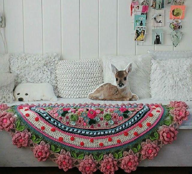 Необычные ковры и коврики   Уют и тепло моего дома
