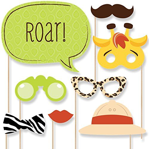 Funfari - Fun Safari Jungle - Photo Booth Props Kit - 20 ... https://www.amazon.com/dp/B00PZ3B3TY/ref=cm_sw_r_pi_dp_x_Y-1PybJAZ4W22