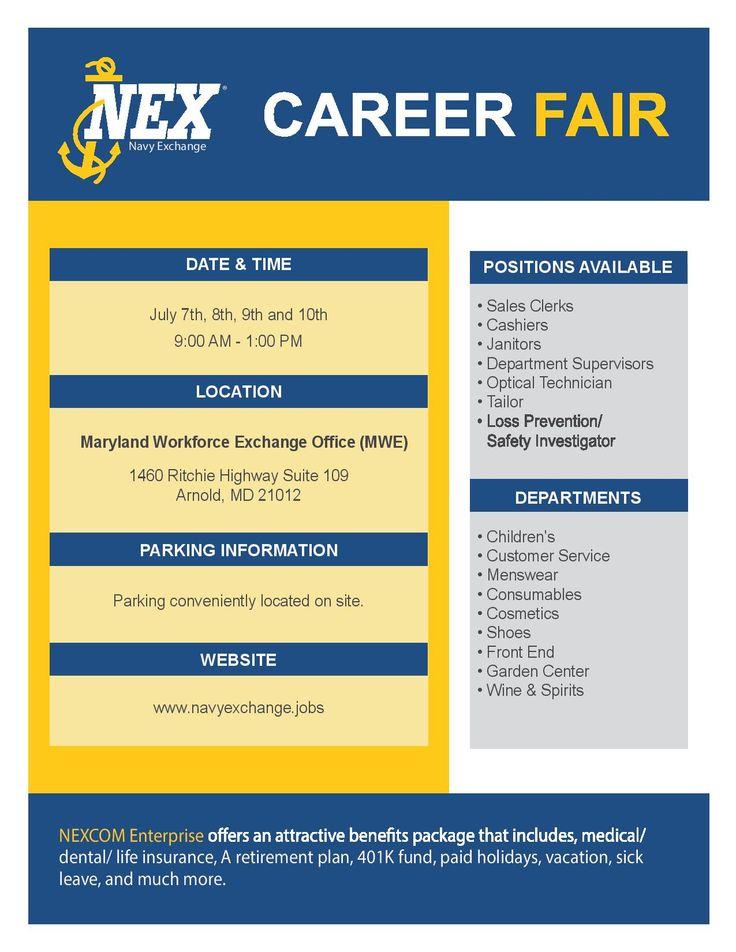 73 best Job Fairs \ Events images on Pinterest Job fair, Career - 9 sample job fair reports