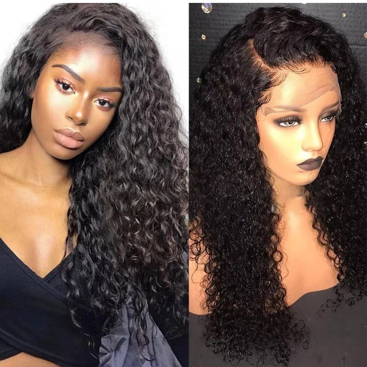 Deep Curly Lace Front Wig