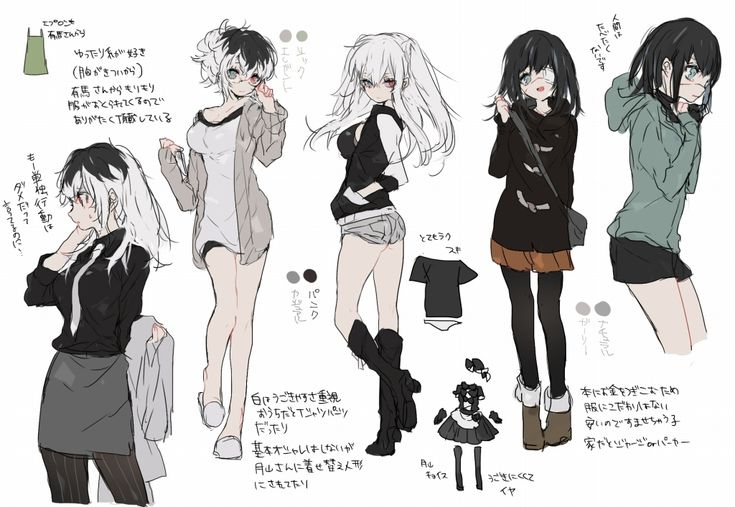Tokyo ghoul collection character girl
