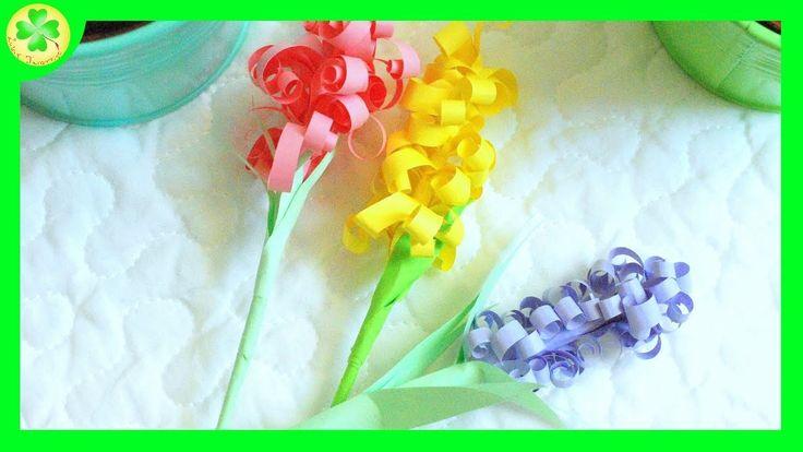 Przepiękne, papierowe hiacynty - od dziś instrukcja na naszym youtube'owym kanale! :)  #hiacynt #hiacynty #kwiat #kwiatek #kwiaty #kwiatki #papierowekwiaty #diy #zróbtosam #handmade #tutorial #poradnik #jakzrobić #howto #instrukcja #instruction #craft #crafts #papercraft #papercrafts #film #filmik #wideo #video #YouTube #youtube #hyacinth #flower #flowers #paperflowers #paperfower