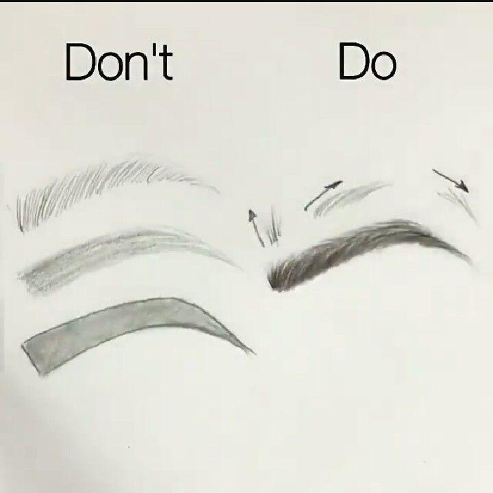 Las 25 mejores ideas sobre cejas dibujo en pinterest y m s - Como hacer dibujos en la pared ...