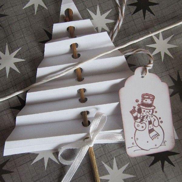papperspyssel gran jul julpyssel papper pyssel inspiration tips ide