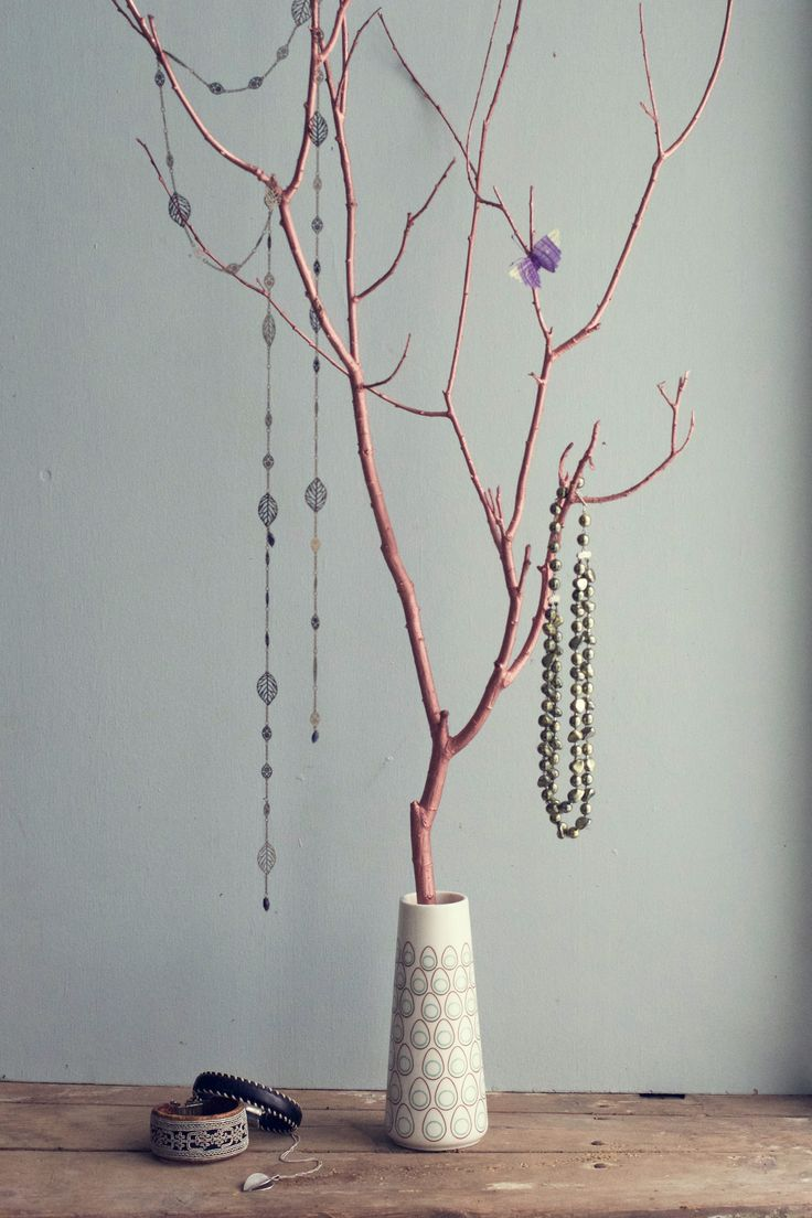DIY Jewellery Tree |  HungryHeart.se