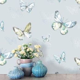 Holden Decor Amelia Butterfly Wallpaper