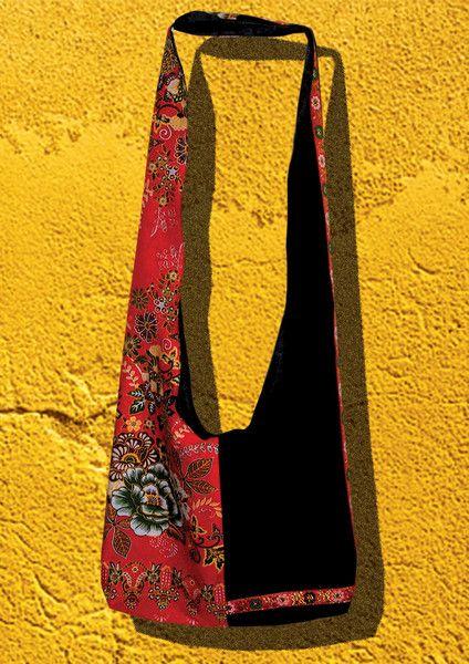SAC bandoulière en tissu BATIK Dork Champa de Mm-Créations-Encorewhat sur DaWanda.com