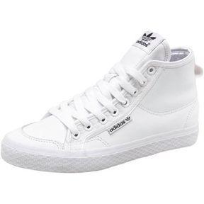 ShopStyle.co.uk: adidas Originals Womens Honey Mid Trainers White/Black £29.99