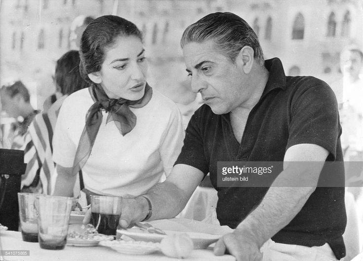 Maria Callas *-+Sängerin, Sopran, USA / Griechenlandmit ...