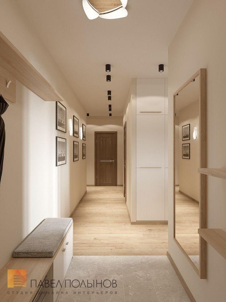 Фото: Прихожая - Интерьер квартиры в современном стиле, ЖК «Солнечный»
