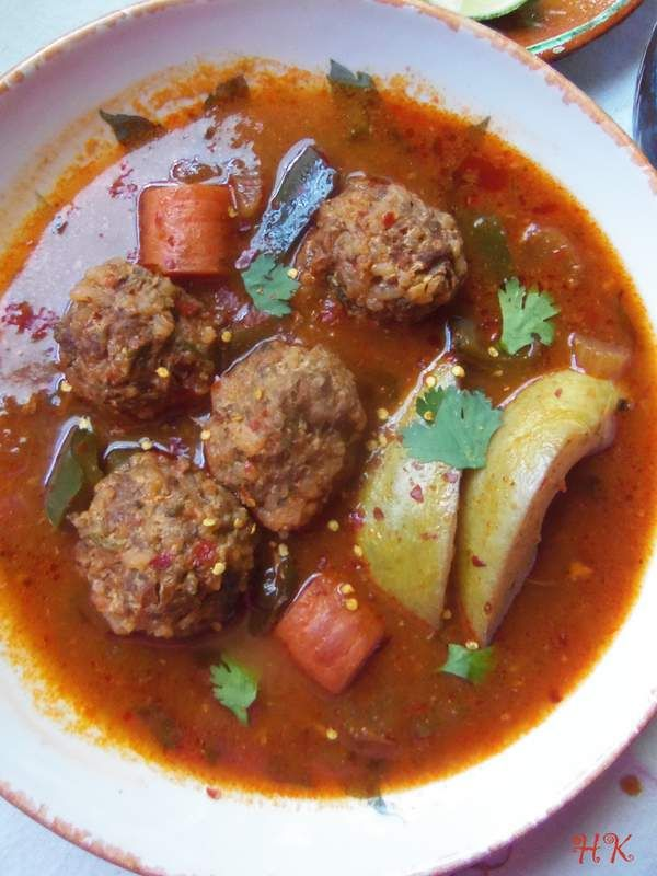 I am not sure which is my most favorite, the albondigas (meatballs) or the caldillo (broth) in this recipe for  …  Continue reading →