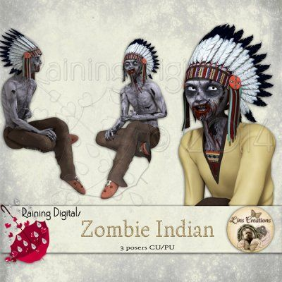 Zombie Indians  http://rainingdigitals.com/store/index.php?main_page=product_info&cPath=1_168&products_id=619