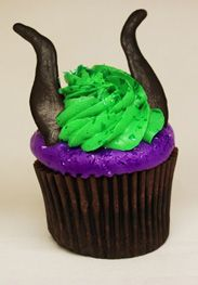 Behold, the most villainous cupcake around! Maleficent Cupcake from Disney World!
