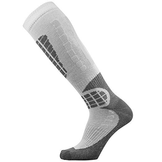 Ski Socks - Best Lightweight Warm Skiing Socks : Sports & Outdoors  Disclosure: This is an affiliate link and if you click the link and make a purchase I will receive a commission. This does not increase the cost to you.