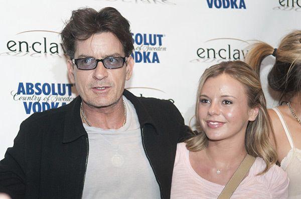 Charlie Sheen és Bree Olson.  (Getty)