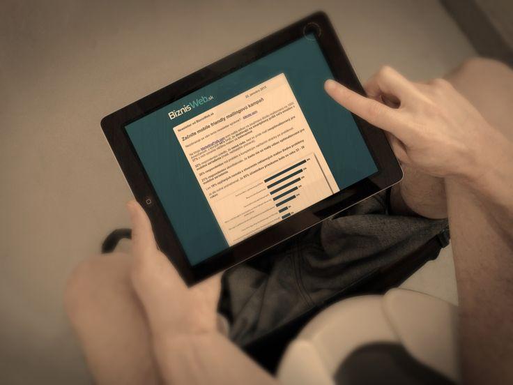 Ako zvýšiť doručiteľnosť mailov? Skúste optimalizovať newsletter pre mobilné zariadenia.