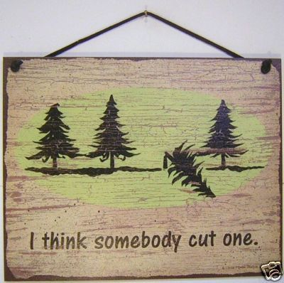 SIGN SOMEBODY CUT ONE fart outhouse retro vintage: