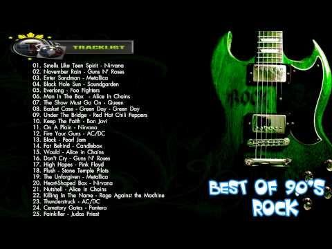 Best Of 90's Rock 90s Rock Playlist Greatest 90s Rock