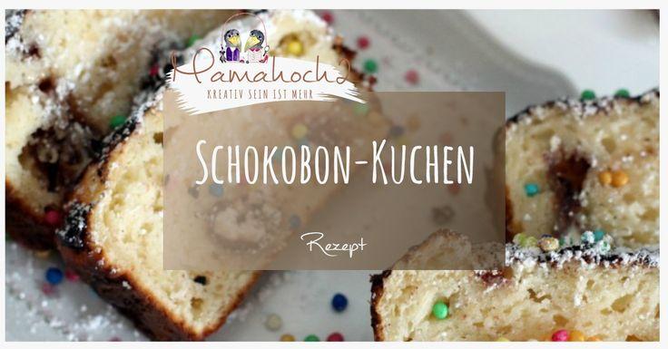 leckerer und schneller Schokobon Kuchen für den Geburtstag oder andere Anlässe.