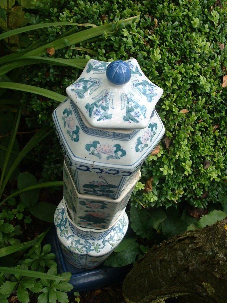 Torntjes van chinees porcelein