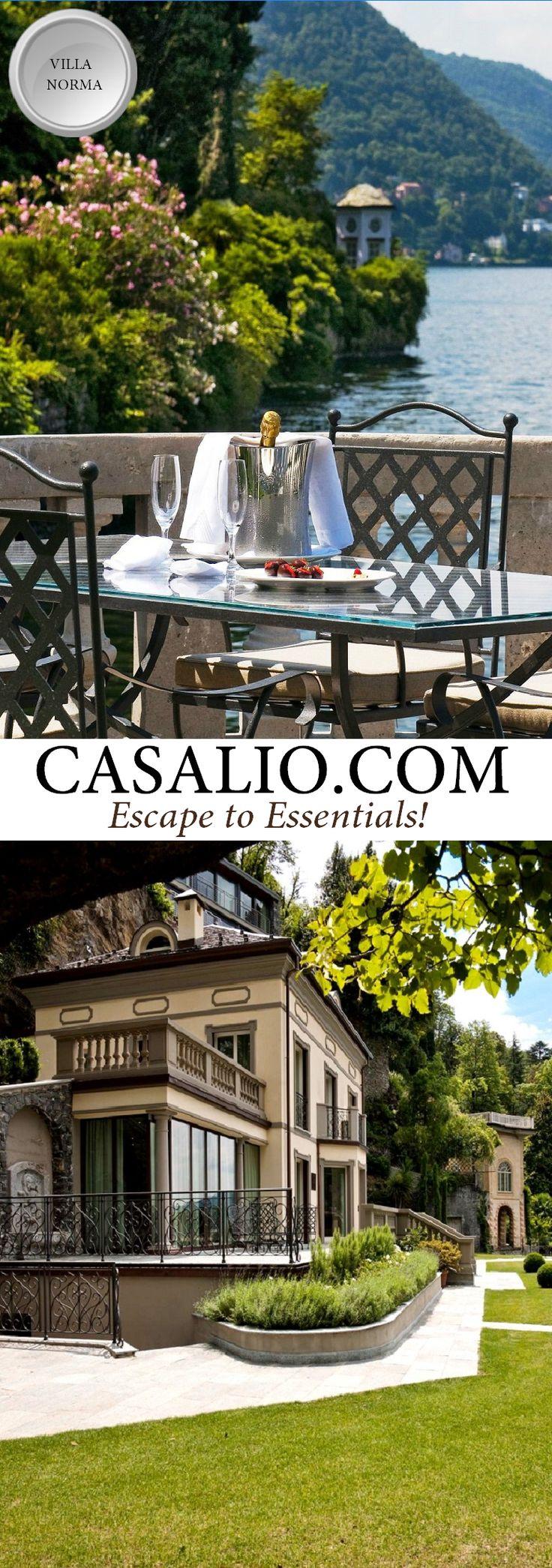 Lake Como Luxury Villa Rental www.casalio.com    Villa Norma    Italy - Lombardy    Lake Como, 3 bedrooms…