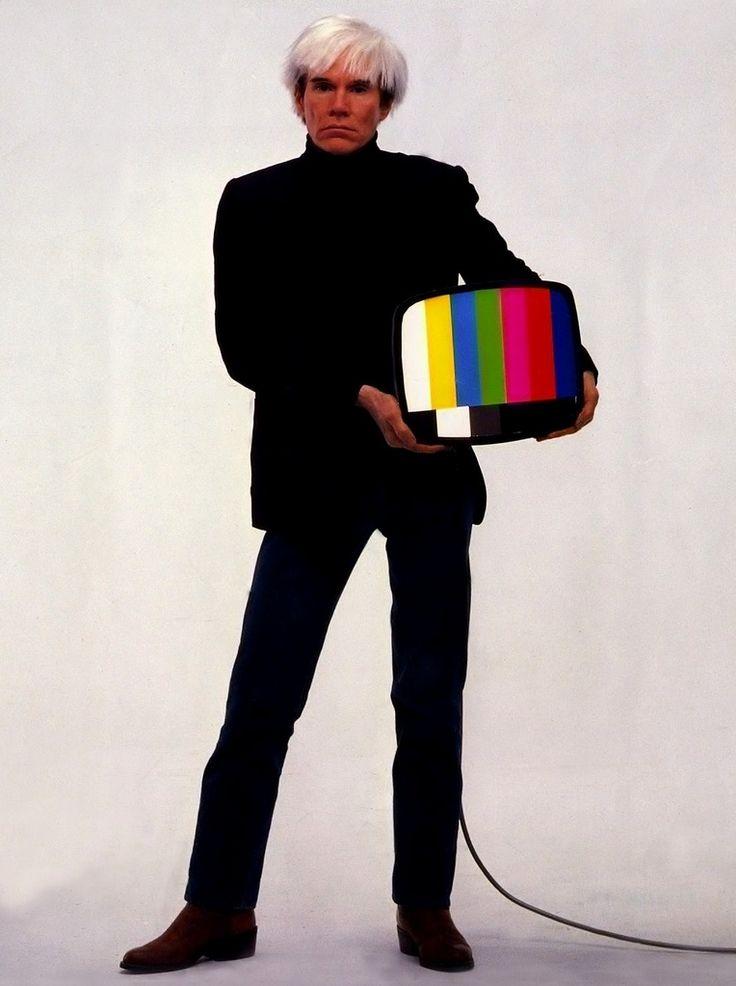 Andy Warhol...saw Warhol twice, once at Metropolitan Museum fashion dept. gala.