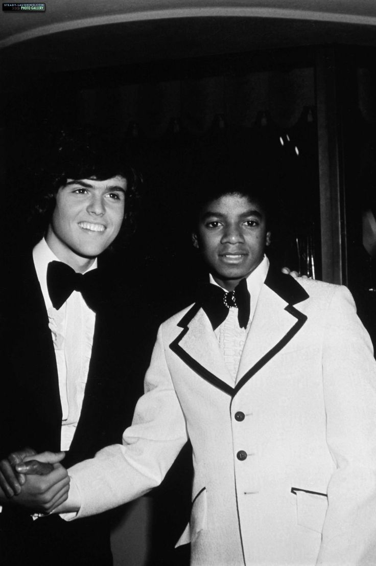 Donny Osmond & Michael Jackson.  They were best friends.  They had sooo much in common!