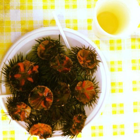 Ricci di mare | Porta Badisco, Puglia  #riccidimare #eat #puglia #lecce #foodtripandmore