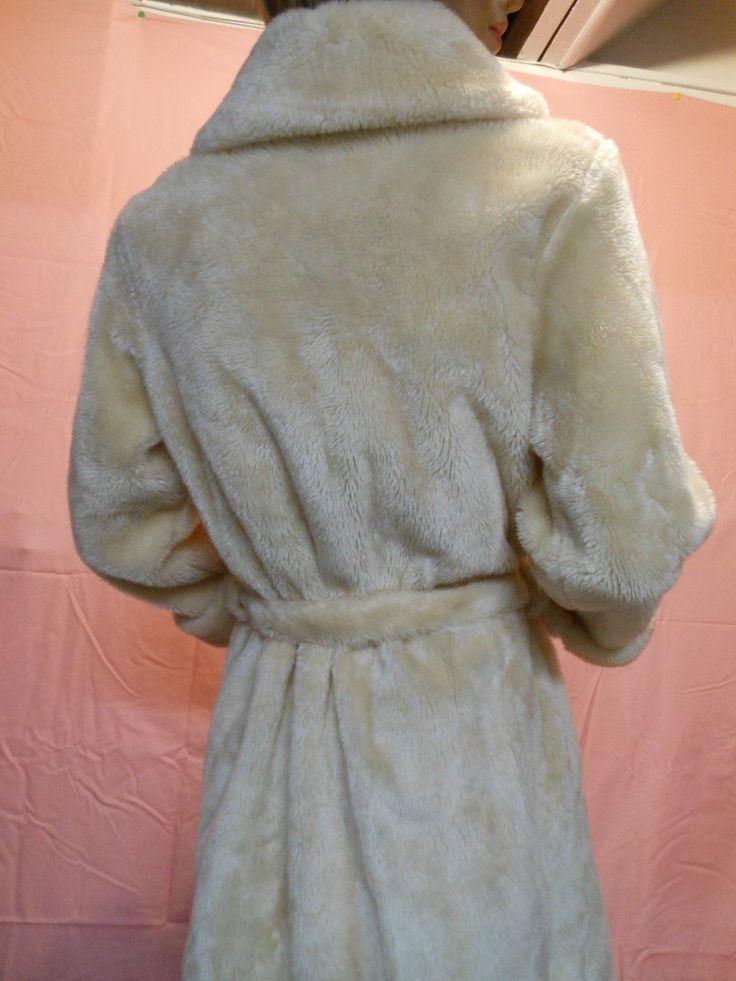 Girls Faux Fur Robe