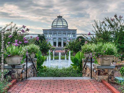 Lewis Ginter Botanical Garden Richmond, VA Wedding Site Virginia Garden Weddings 23228