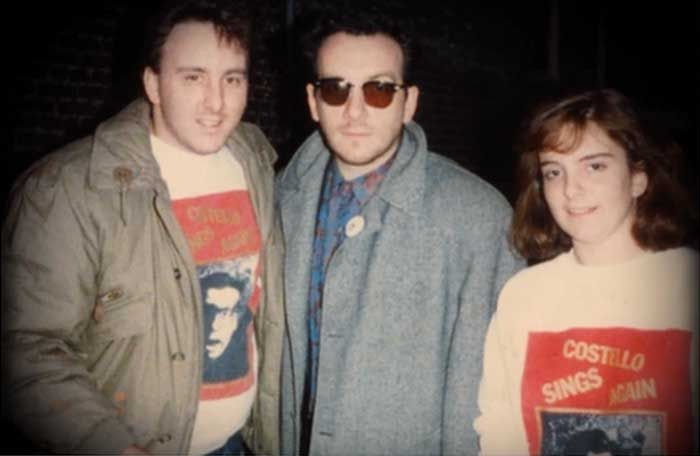 Elvis Costello and Tina Fey | Rare and beautiful celebrity photos