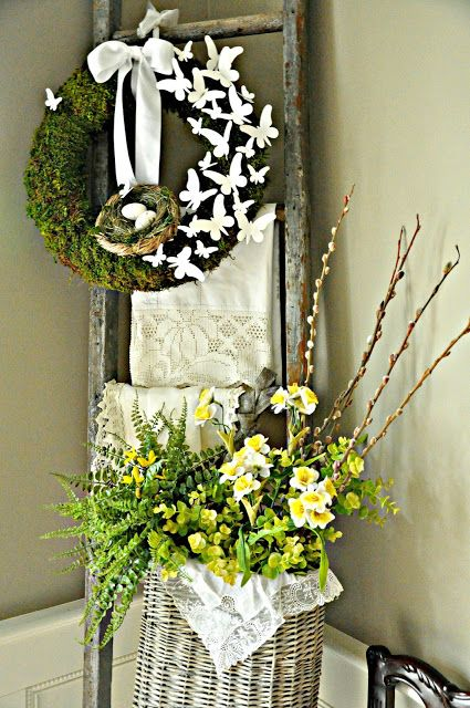 Beautiful Spring Wreaths And Front Door D Cor That Will