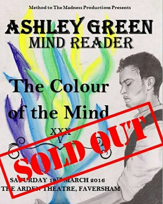 My new show for 2016 is now sold out. More information about future shows will follow