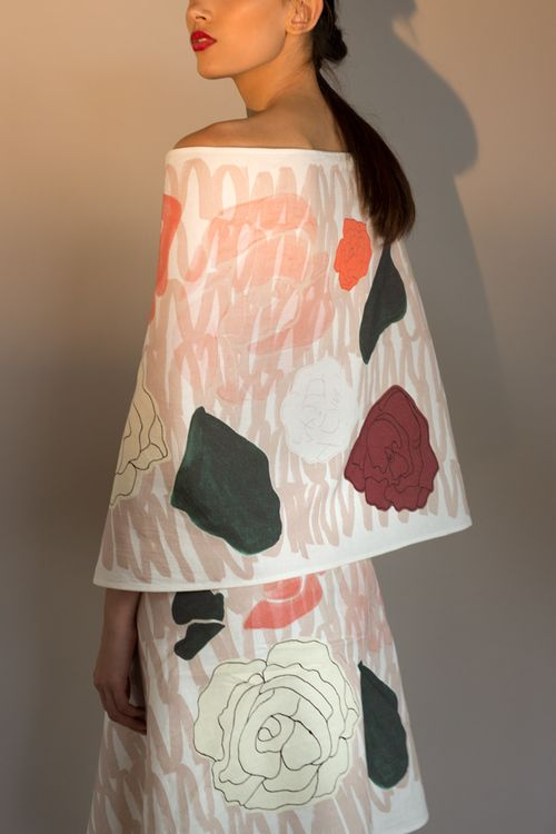 The Rosa Wrap. Ethically made, printed & designed in Australia.
