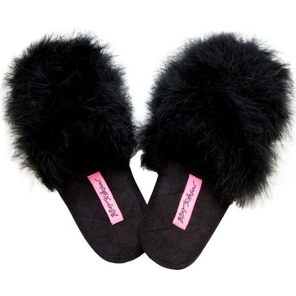 Black Elegant Slipper Shoes