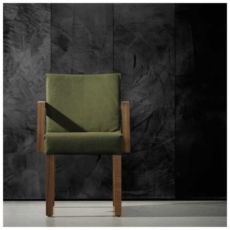 Behang met een ruw randje. Het #Concrete #Behang 07 ontworpen door #Piet #Boon voor #NLXL | MisterDesign