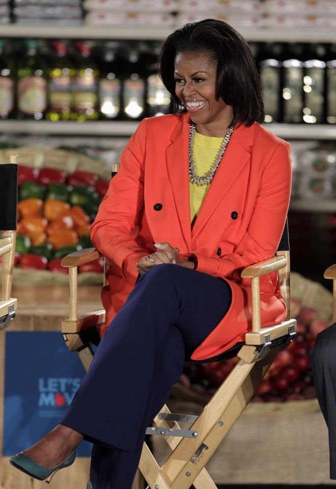 First Lady Obama can do no Fashion wrong!