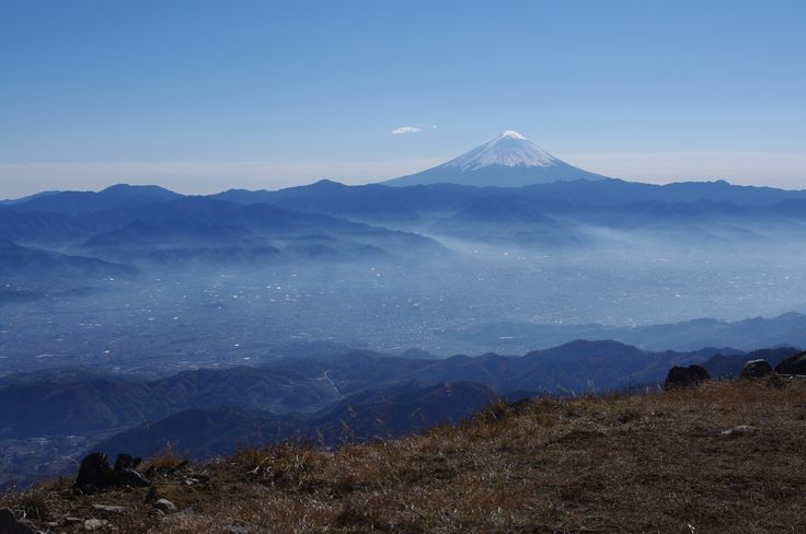 Fuji view from Mt.Konarasan (小楢山) , J@pan.