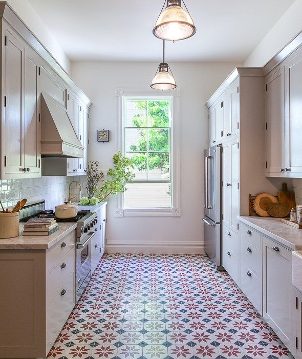Galley Kitchen Flooring Ideas: Galley Kitchens, Kitchen Remodeling And Kitchen