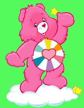 Heart Strong Bear Care Bears | Hopeful.gif