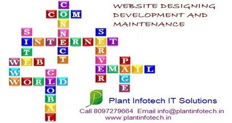 Call 8097279664 / Email info@plantinfotech.in E Commerce Websites, Static Websites, Dynamic Websites, Integrated Payment Gateway