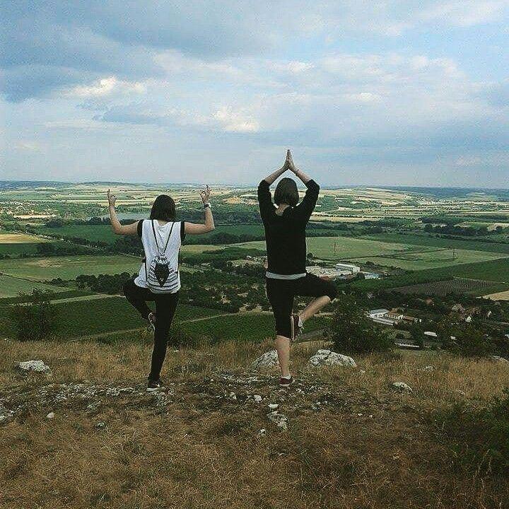 Mikulov sv.Kopecek #Meditation #Kunfu #trip #friends