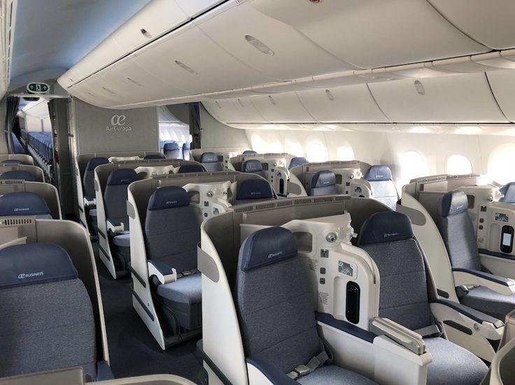 Air Europa : Classe Affaires du nouveau Boeing 787-9