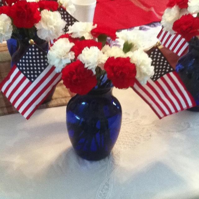 memorial day wedding colors