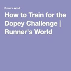 How to Train for the Dopey Challenge | Runner's World