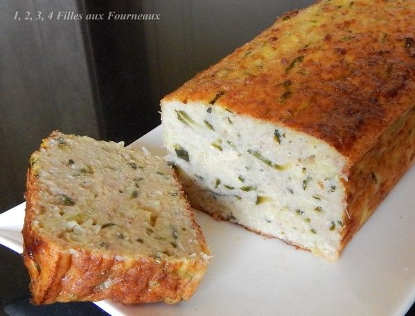Terrine de courgettes au jambon (recette weight watchers)