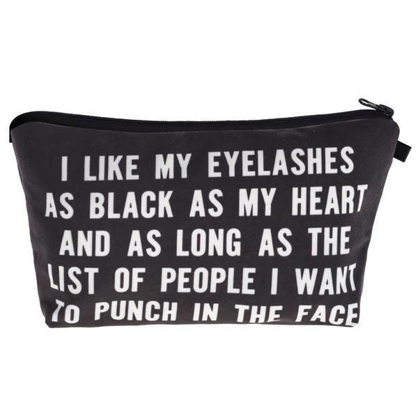 Makeup organization. Makeup looks. Makeup bag essentials. Makeup bag sayings. Makeup gift ideas. Makeup goals. Makeup artist kit. Beauty tips. Quotes to live by. Funny quotes. Memes sarcastic. Hairstylist quotes. Beauty bags monthly. Eyelash extensions styles. False lash application. Mascara quotes. Mascara tips applying. Novelty bags 2018. #instagood #instagram #instafashion #lashesquotes