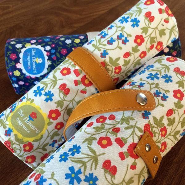 Floral Stationery Bag - StickyBird - 1